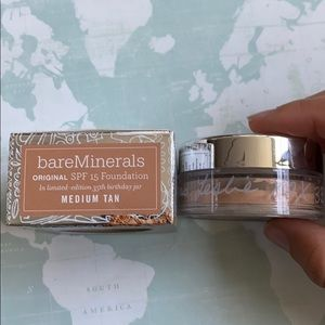 bareMinerals Makeup - Bare Minerals foundation med tan spf 15 limited